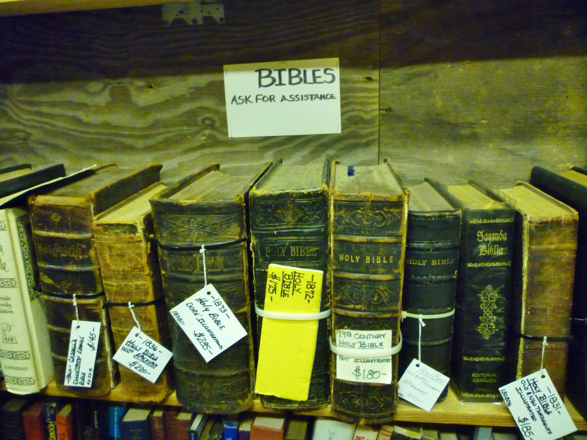 Antique Bibles