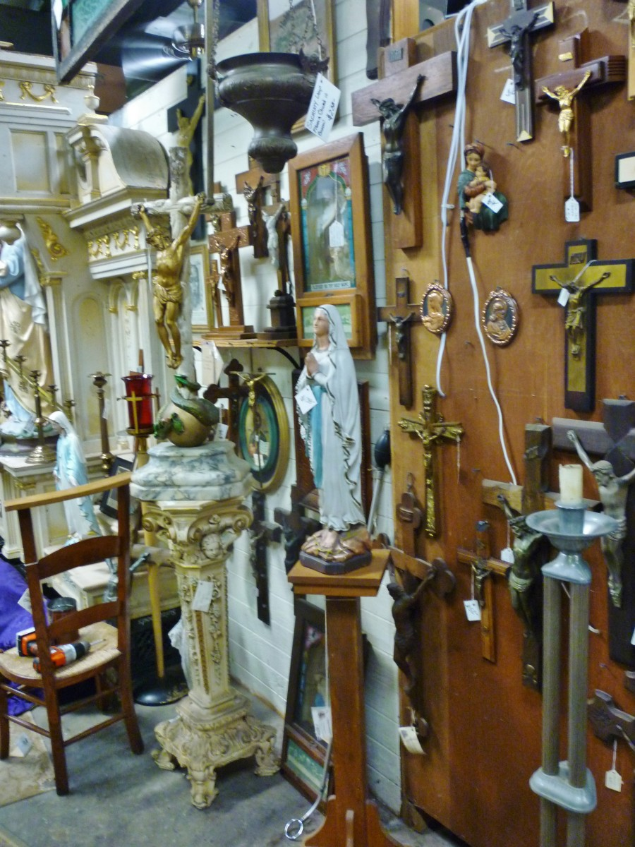 August Antiques Store religious items