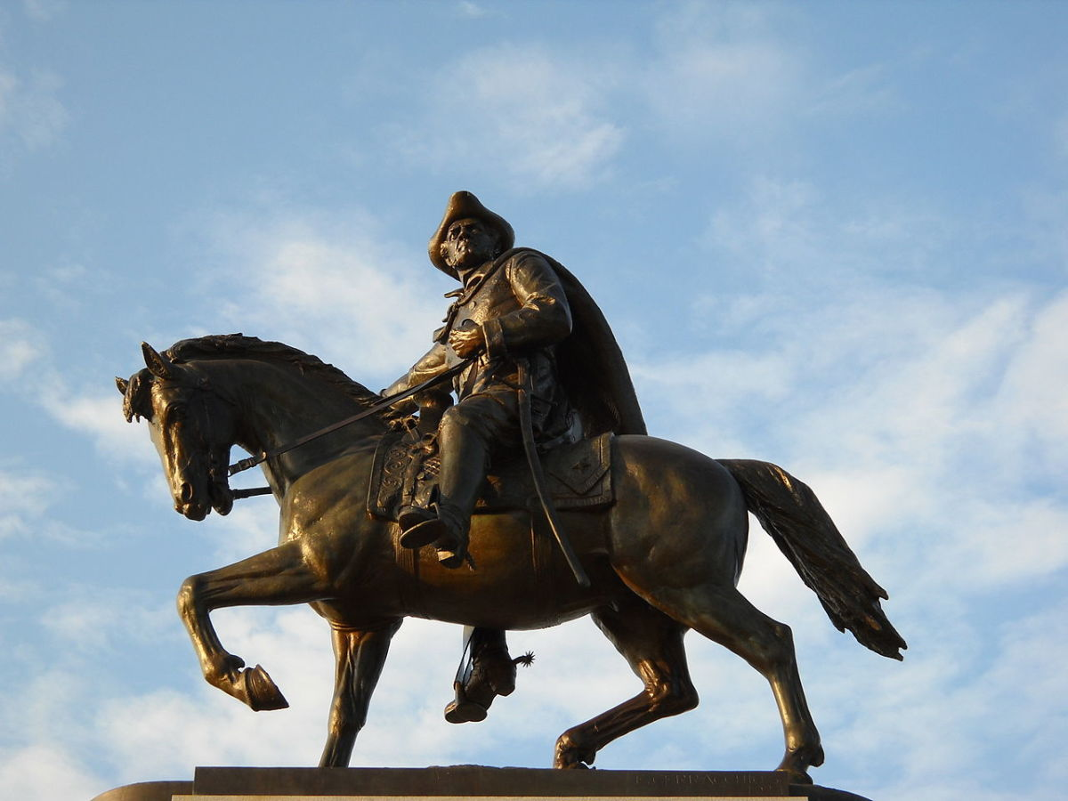 Sam Houston Sculpture
