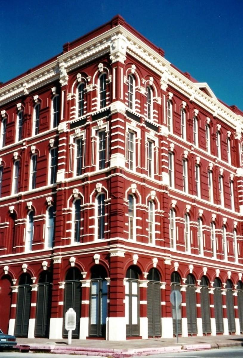 The Stewart Building in Galveston