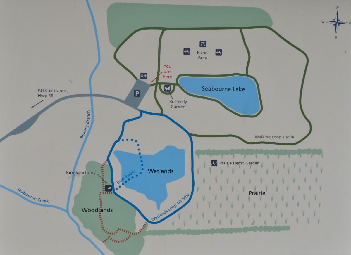 Seabourne Creek Nature Park Map