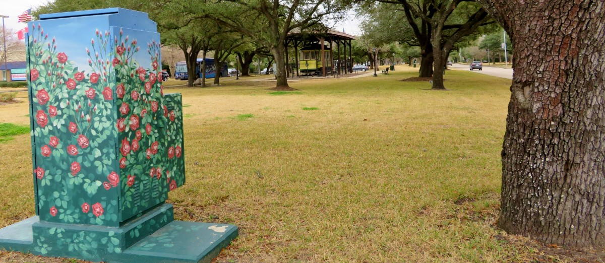Mini Mural in Bellaire Paseo Park