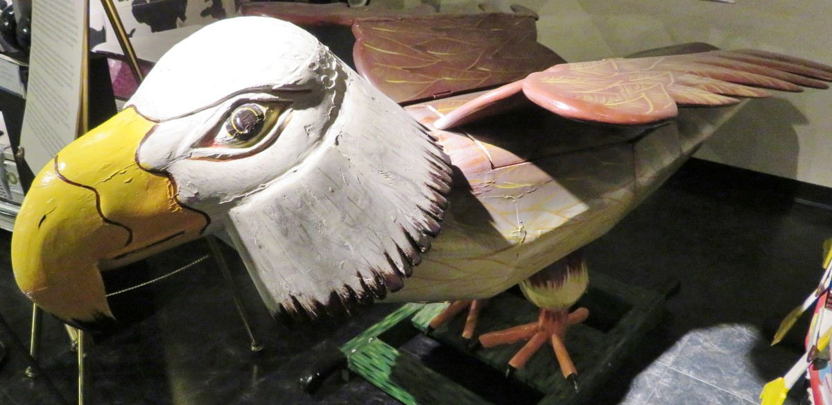 Eagle Coffin at the National Museum of Funeral History