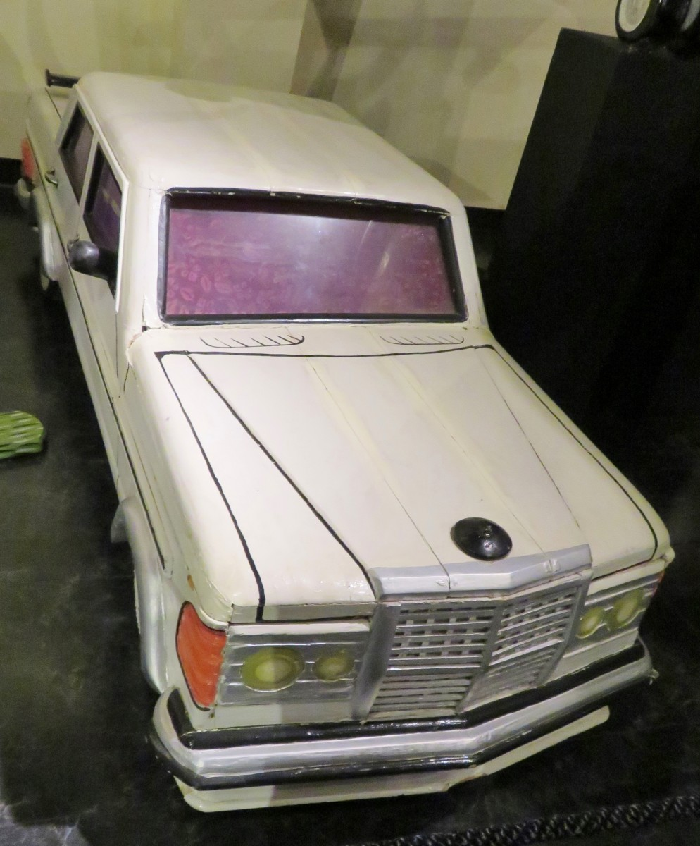 Mercedes Benz Coffin at the National Museum of Funeral History