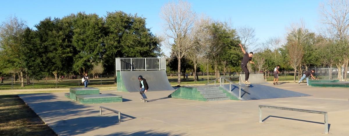 Skate Park Portion of Congressman Bill Archer Park