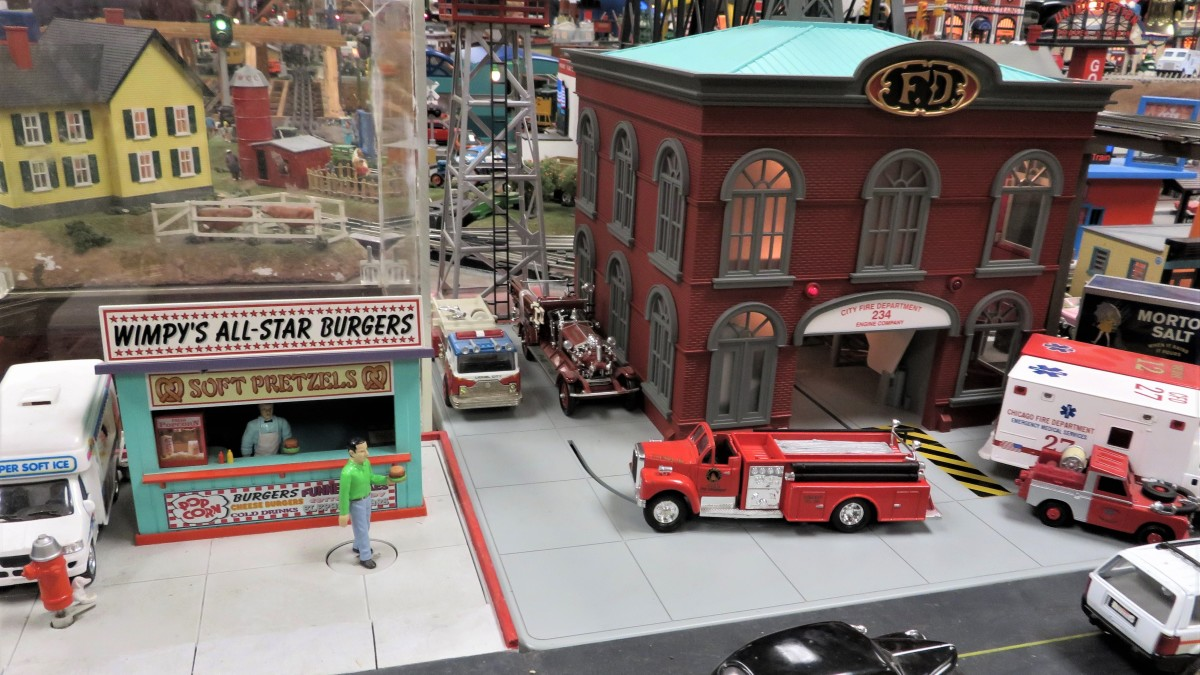 Some of the items you can see at the Houston Tinplate Operators Society location in Memorial City Mall.