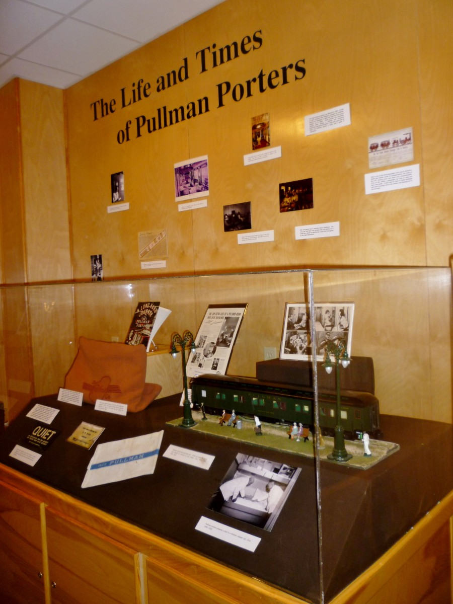 Displays inside of the museum