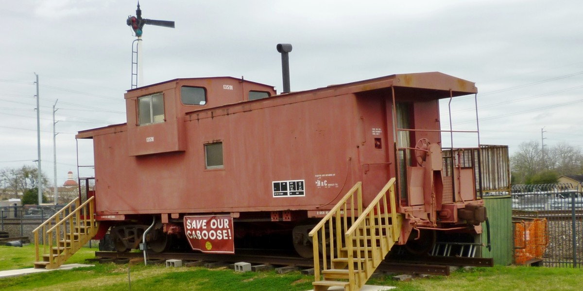 1972 Missouri Pacific Caboose