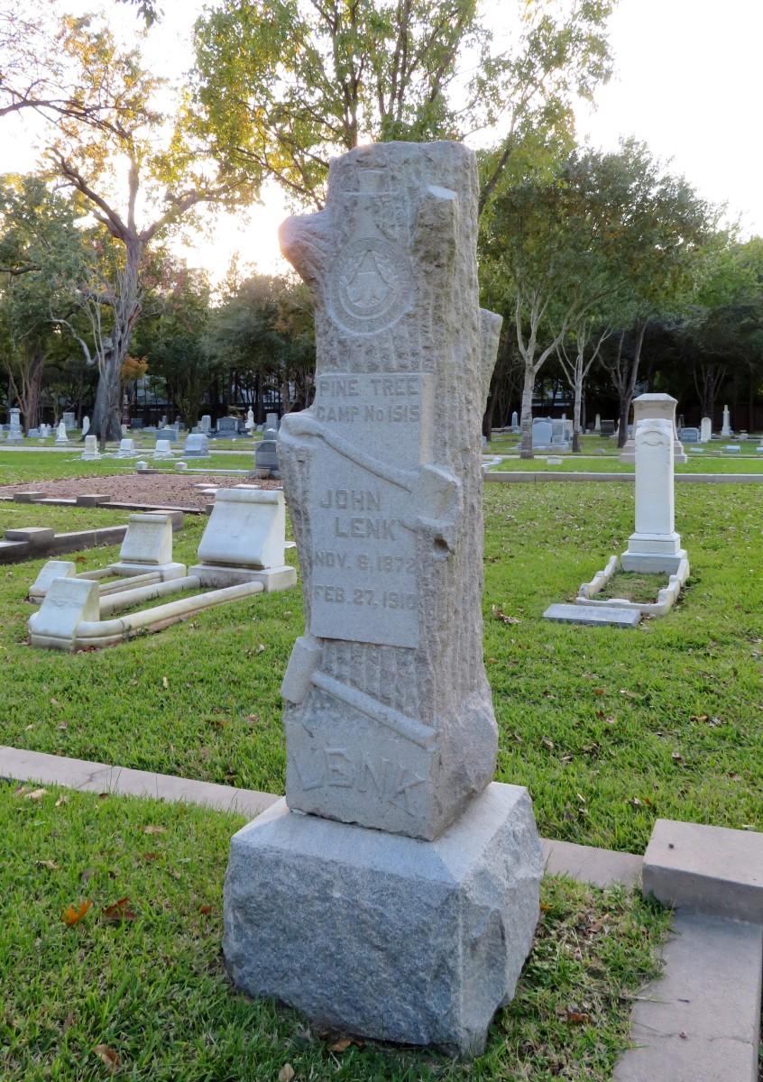 Woodmen of the World (Lenk Monument) in Washington Cemetery