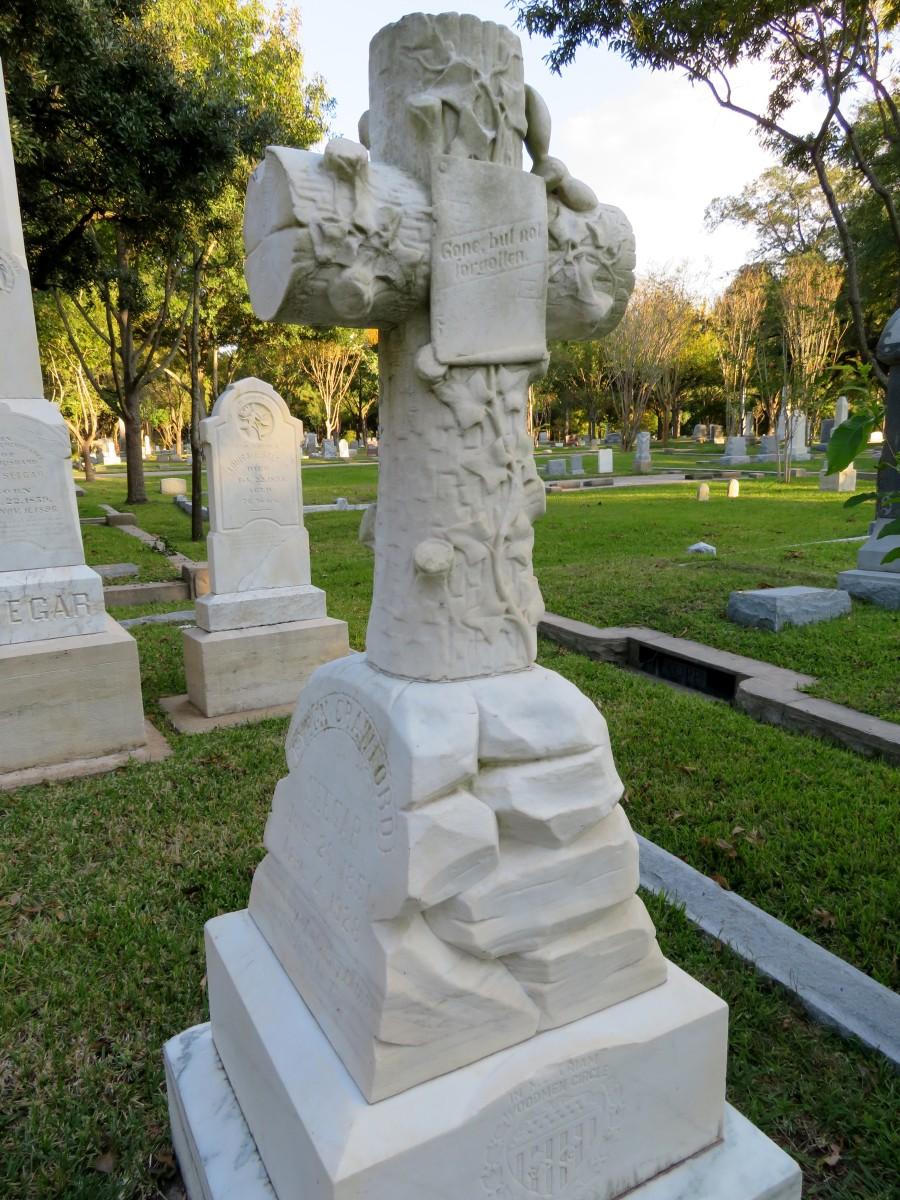Fannie T. Caperton-Seegar Monument in Washington Cemetery