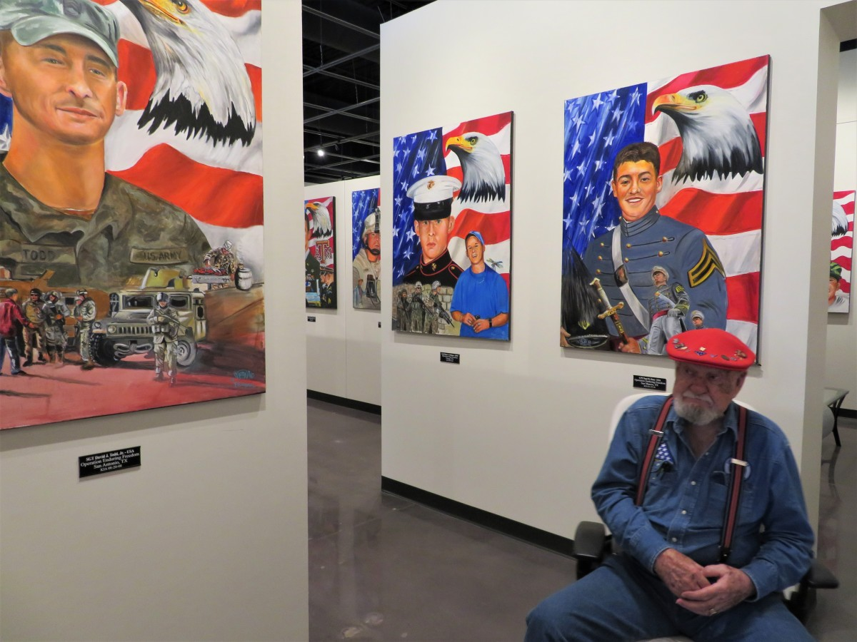 Many stories are told about these fallen heroes by Ken Pridgeon Sr.