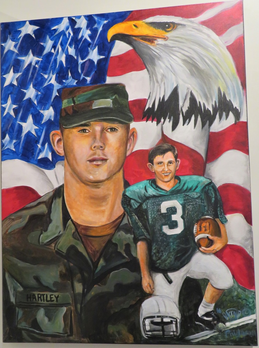 SSG Jeffery L. Hartley USA from Hempstead, TX. He served in Operation Iraqi Freedom and was KIA on 04-08-08