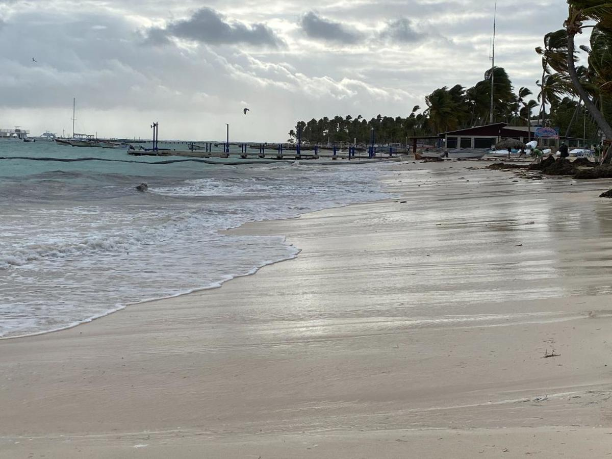 The day is just beginning. Punta Cana 2020
