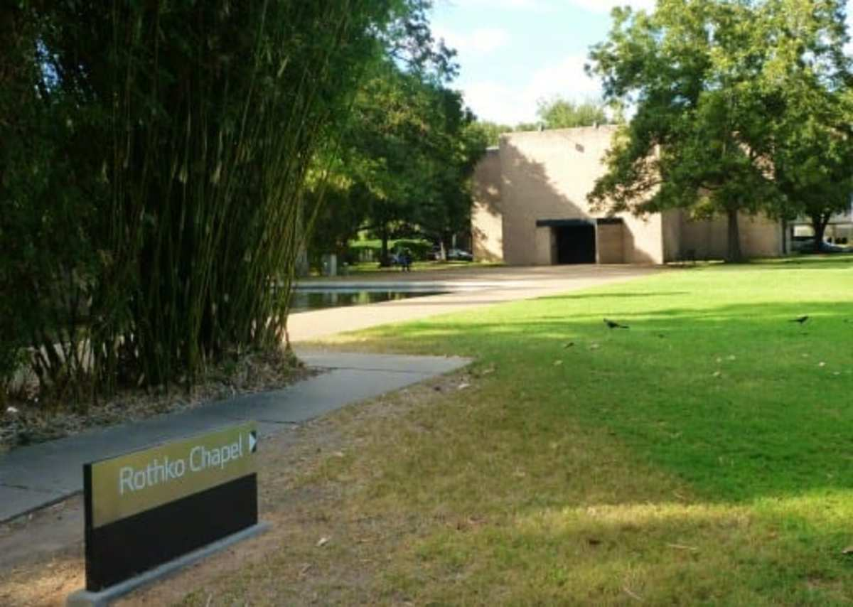 Exterior of the Rothko Chapel