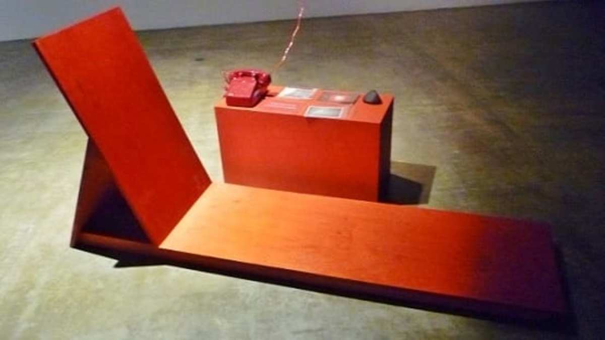 The Interview: Red, Red Future by artist MPA at the Contemporary Arts Museum Houston.