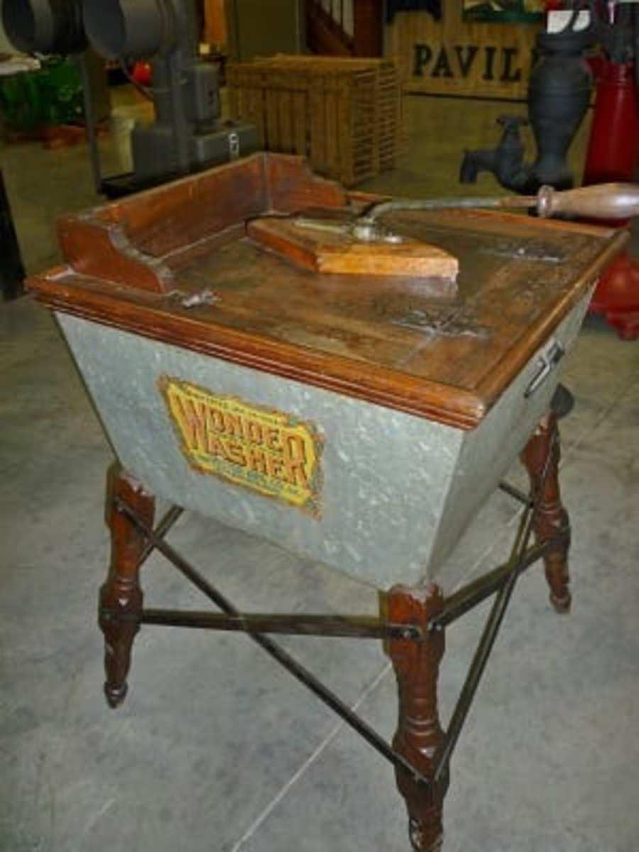 Old washtub