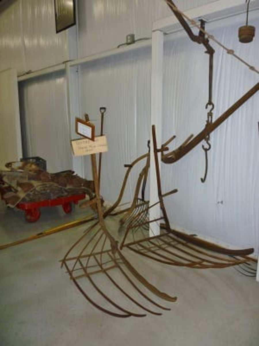 Scythe & Handmade Cradle dating back to 1800
