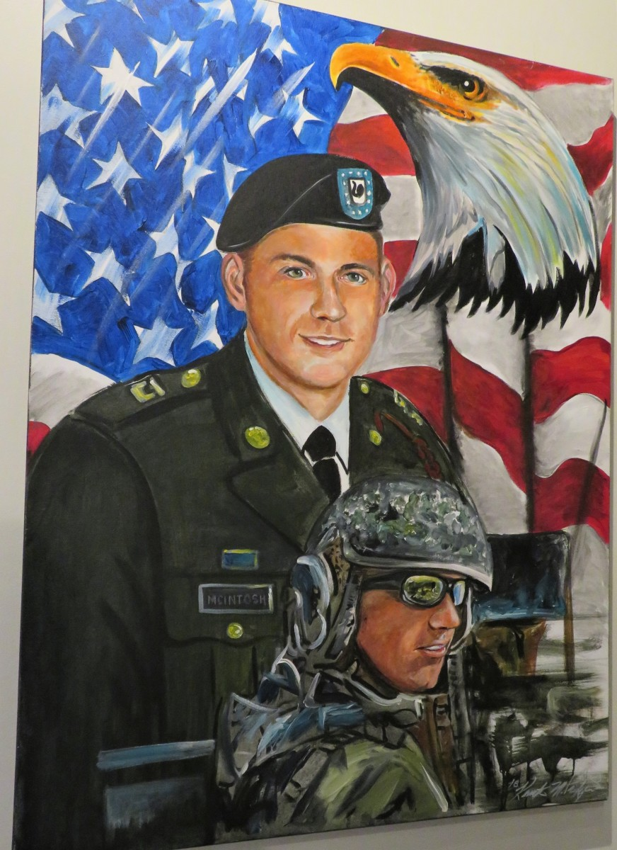 CPL Scott A. McIntosh from Houston, TX. He served in Operation Iraqi Freedom and was KIA on 03-10-08.