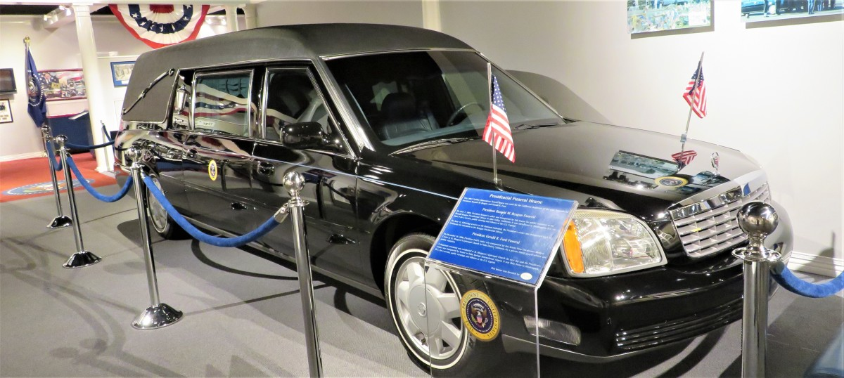 Presidential Funeral Hearse