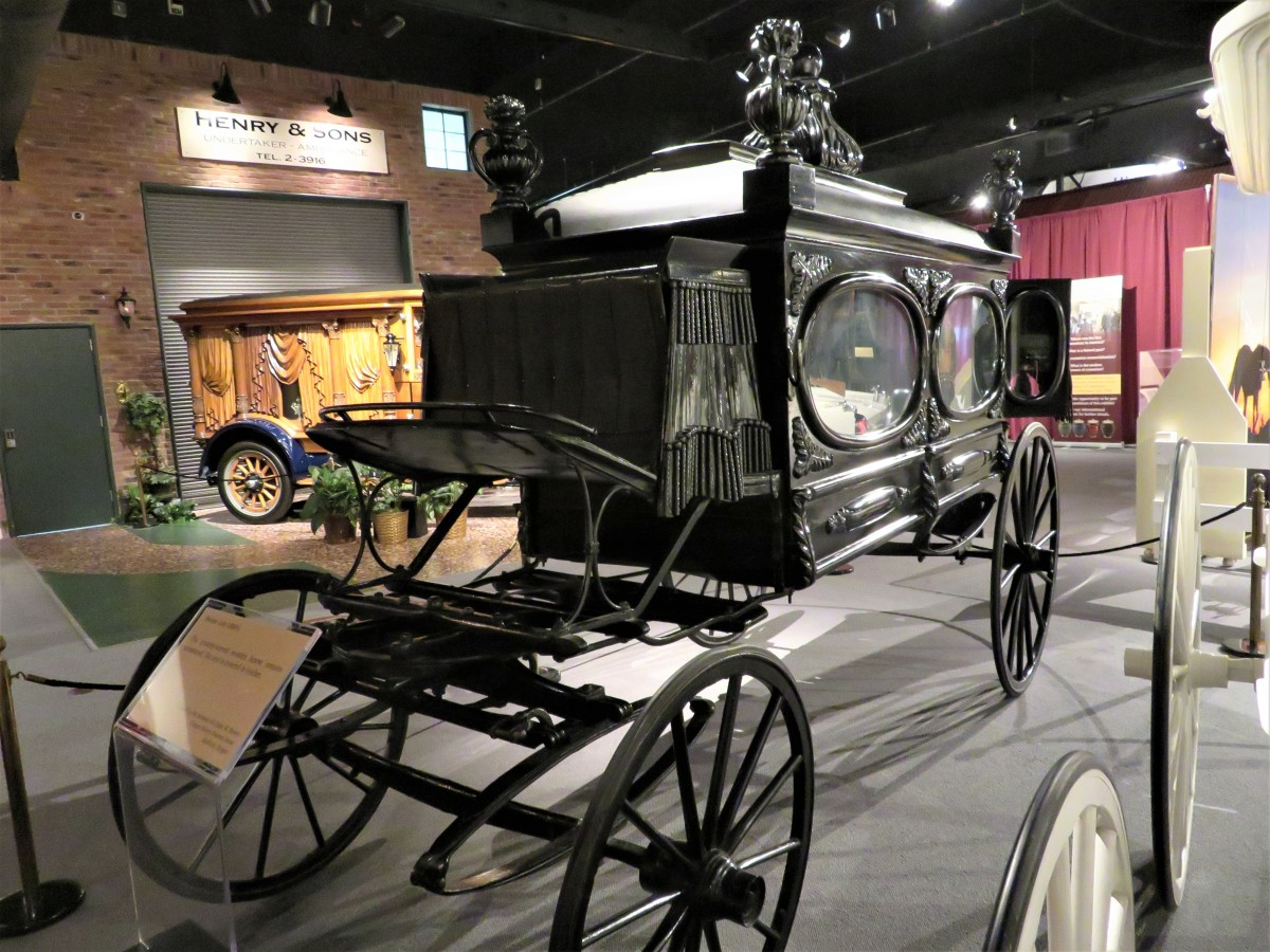 Hearse, the Late 1800s