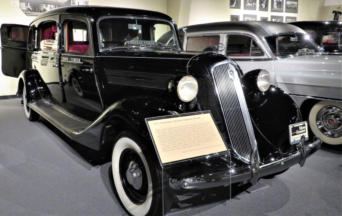 1935 Studebaker Dictator Superior Hearse