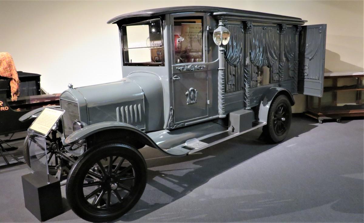 1924 Ford Model TT Hoover Hearse