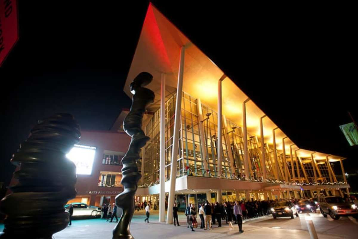 The Hobby Center hosts Broadway shows as well as smaller performing arts groups in Houston.