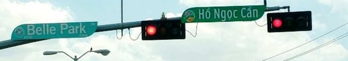 Street signs in parts of our city