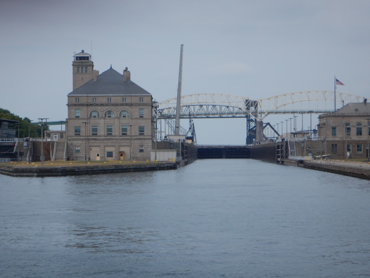 Soo Locks - View From My Tour