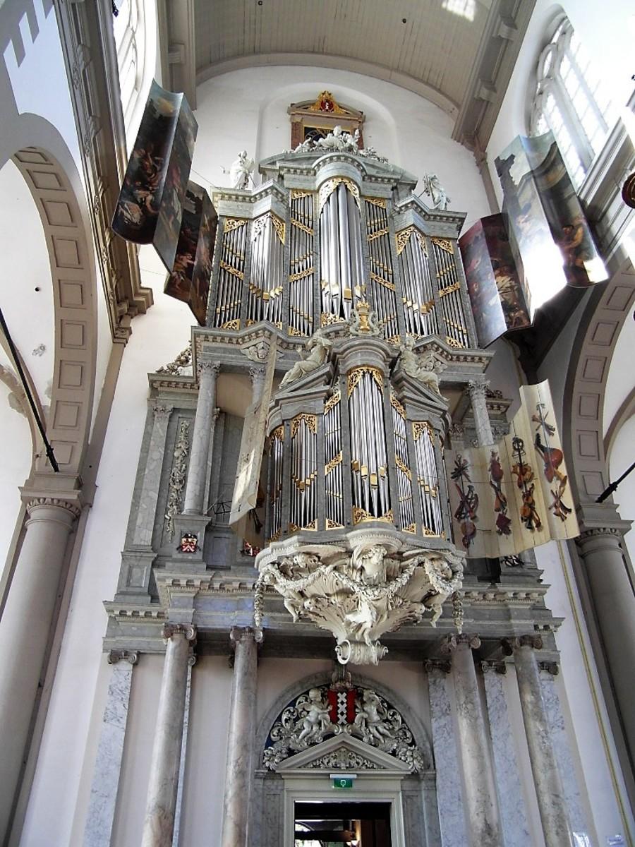 Organ in Westerkerk.