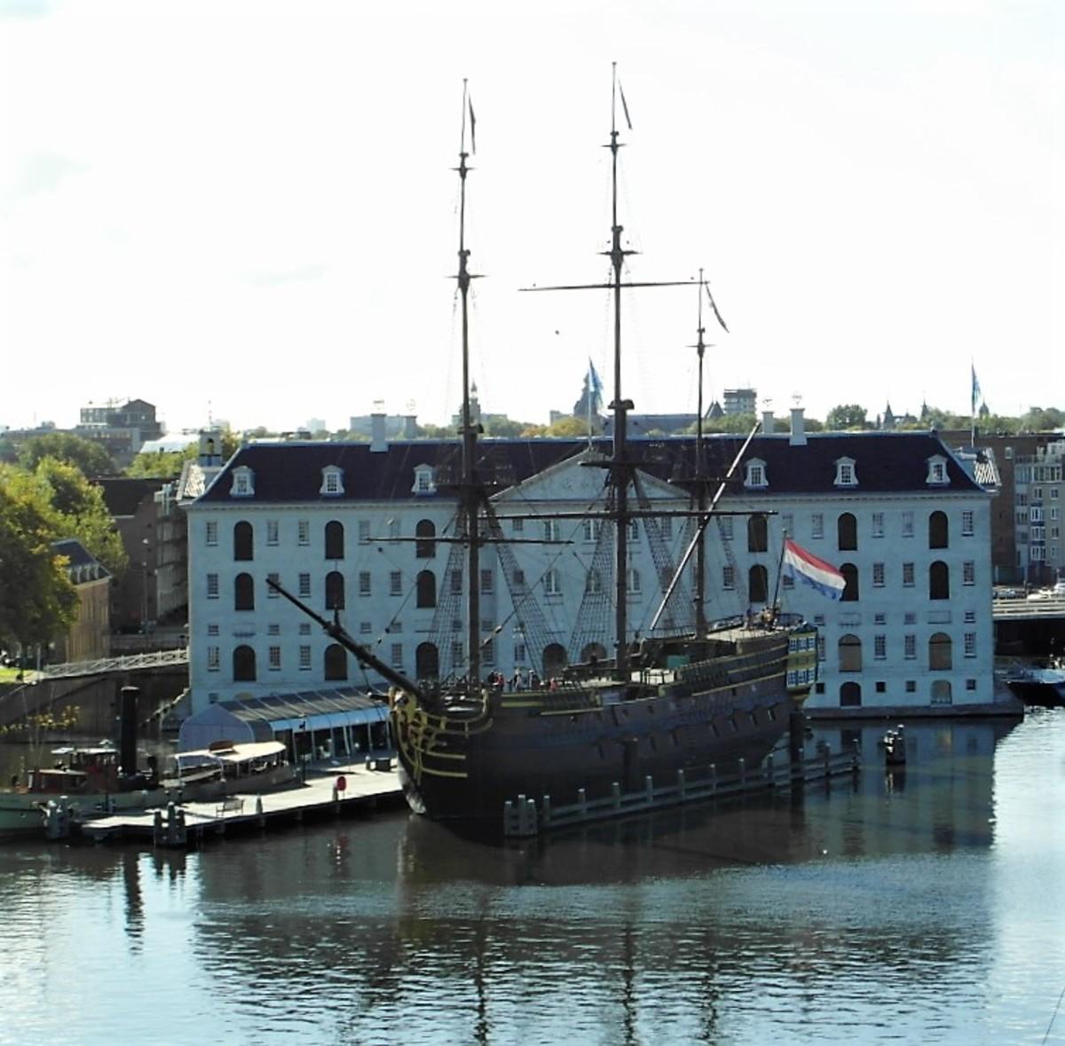 Scheepvaart Museum, Amsterdam.