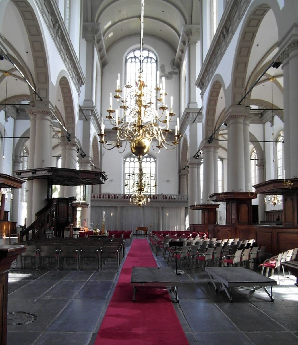 Interior of Westerkerk.