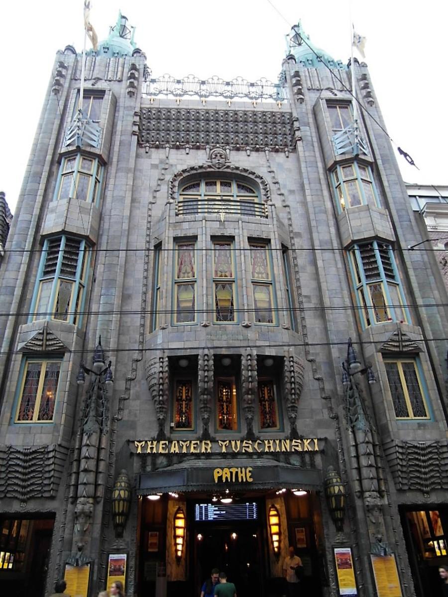 Tuschinski Theatre, Amsterdam.