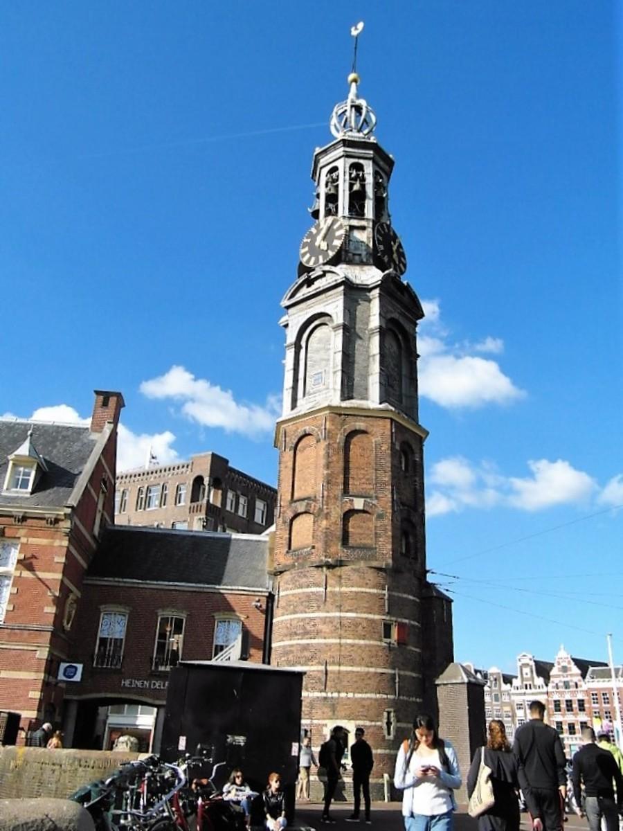 Munttoren, Amsterdam.