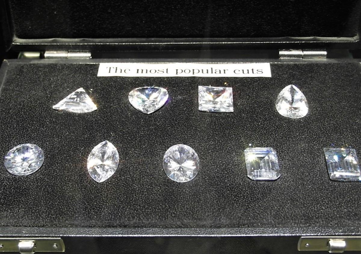 Diamond display.
