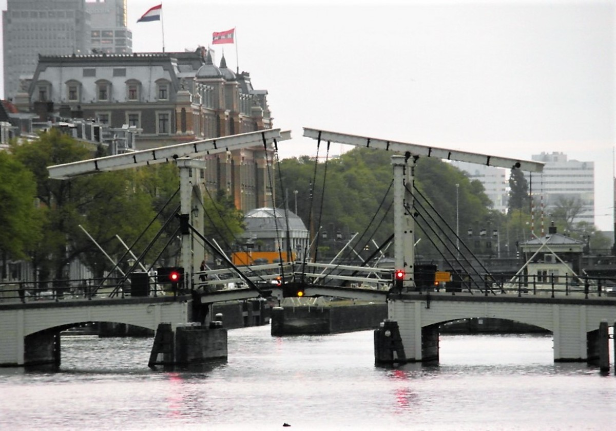 Magere Brug, Amsterdam.