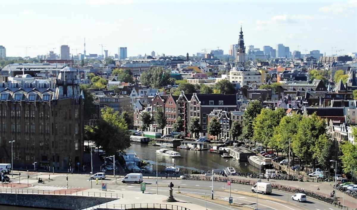 Amsterdam from the Doubletree.