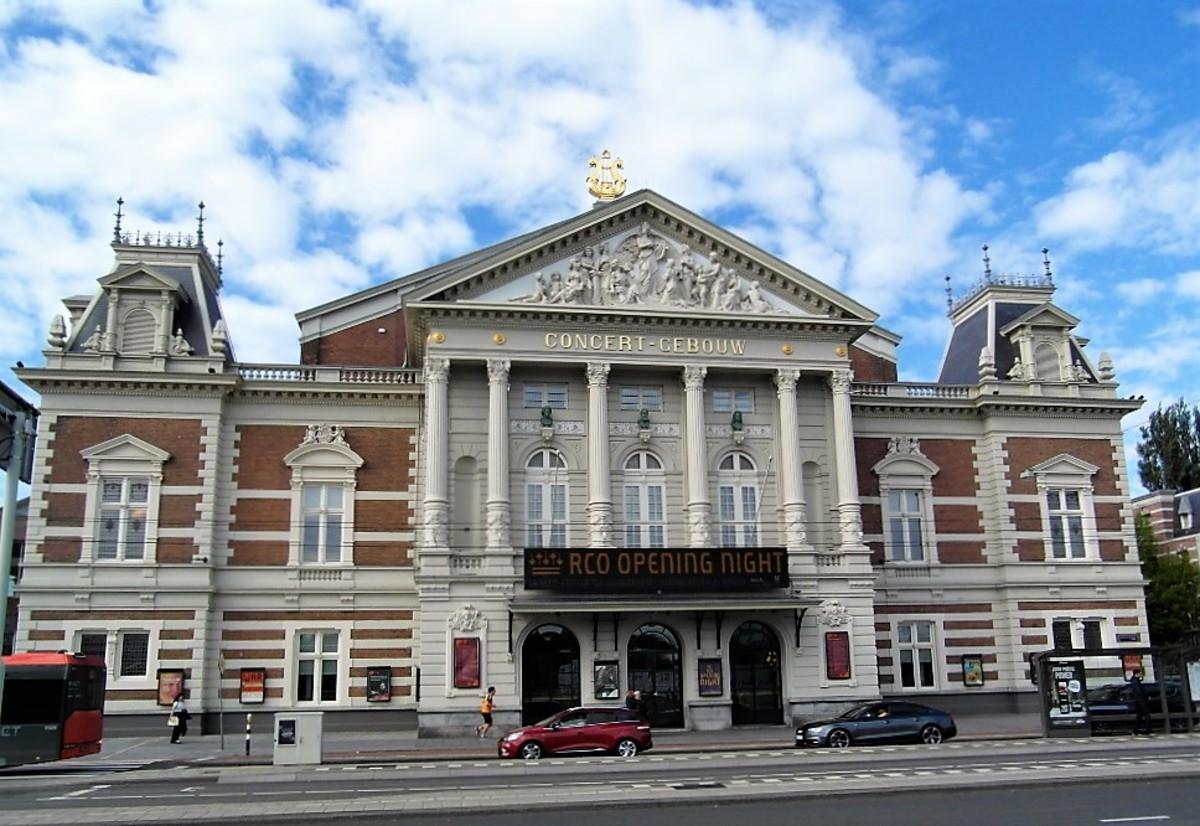 Concertgebouw, Amsterdam.
