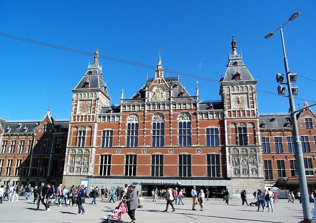Centraal Station, Amsterdam.