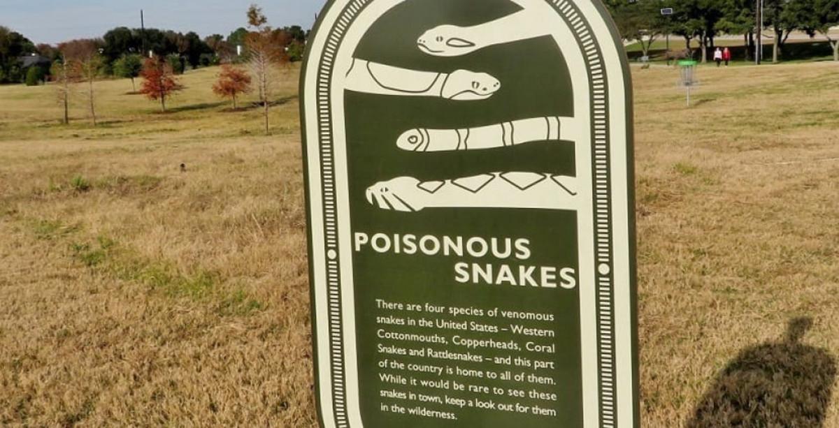Informative park signs