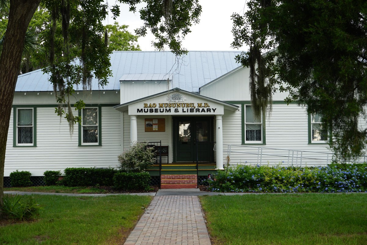The West Pasco Historical Society Museum & Library.