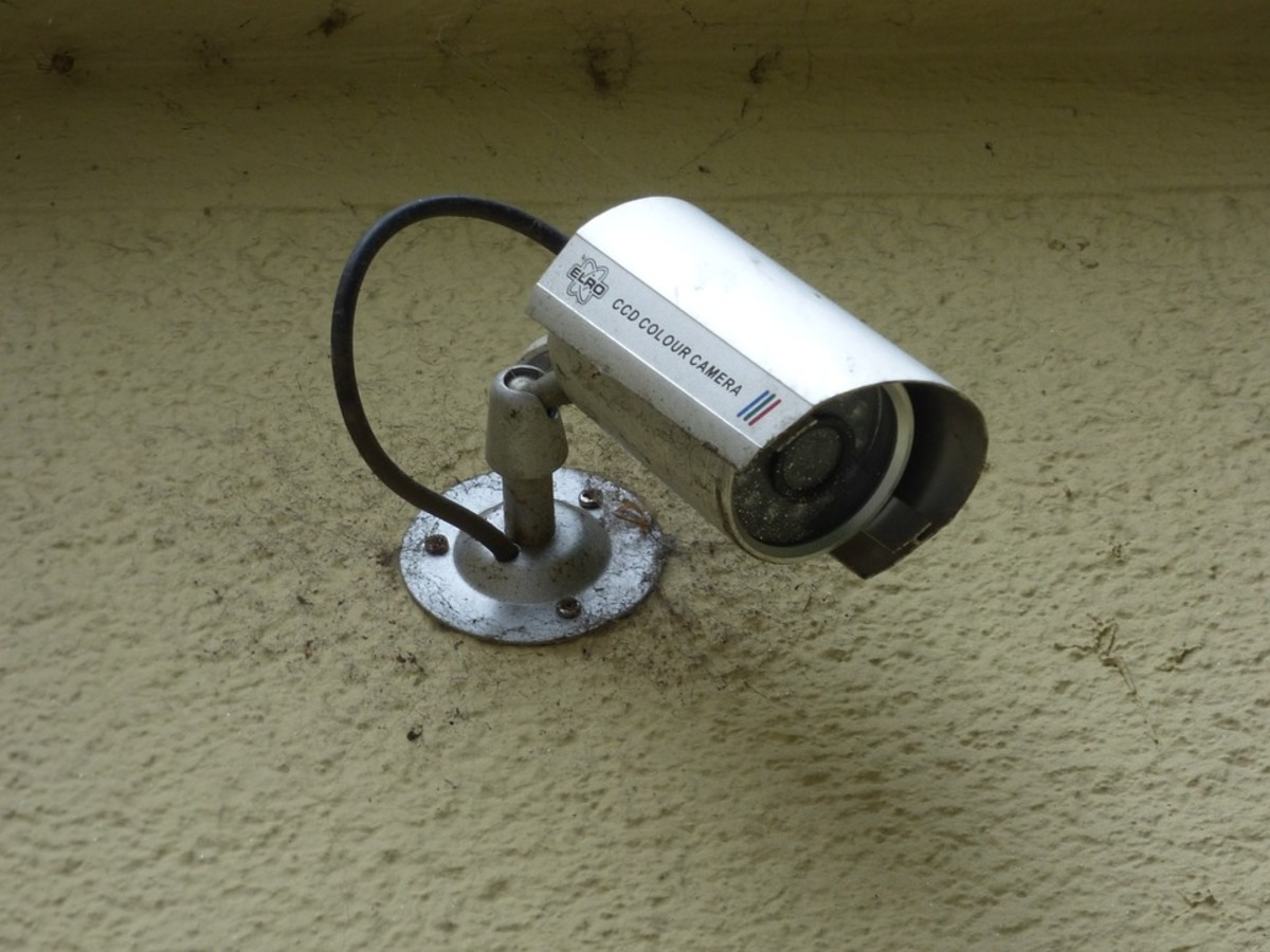Security cameras are a great way to check on your house while on vacation.