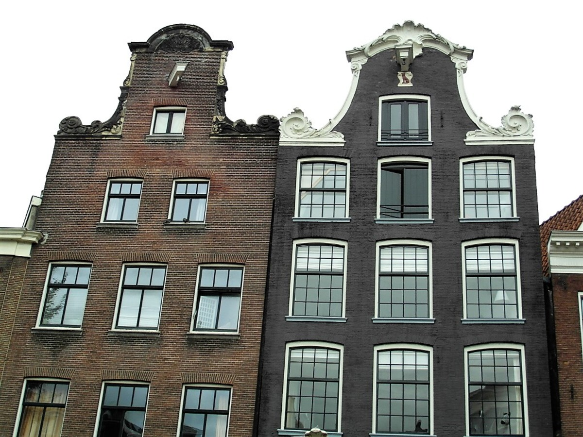 Gables of Amsterdam.