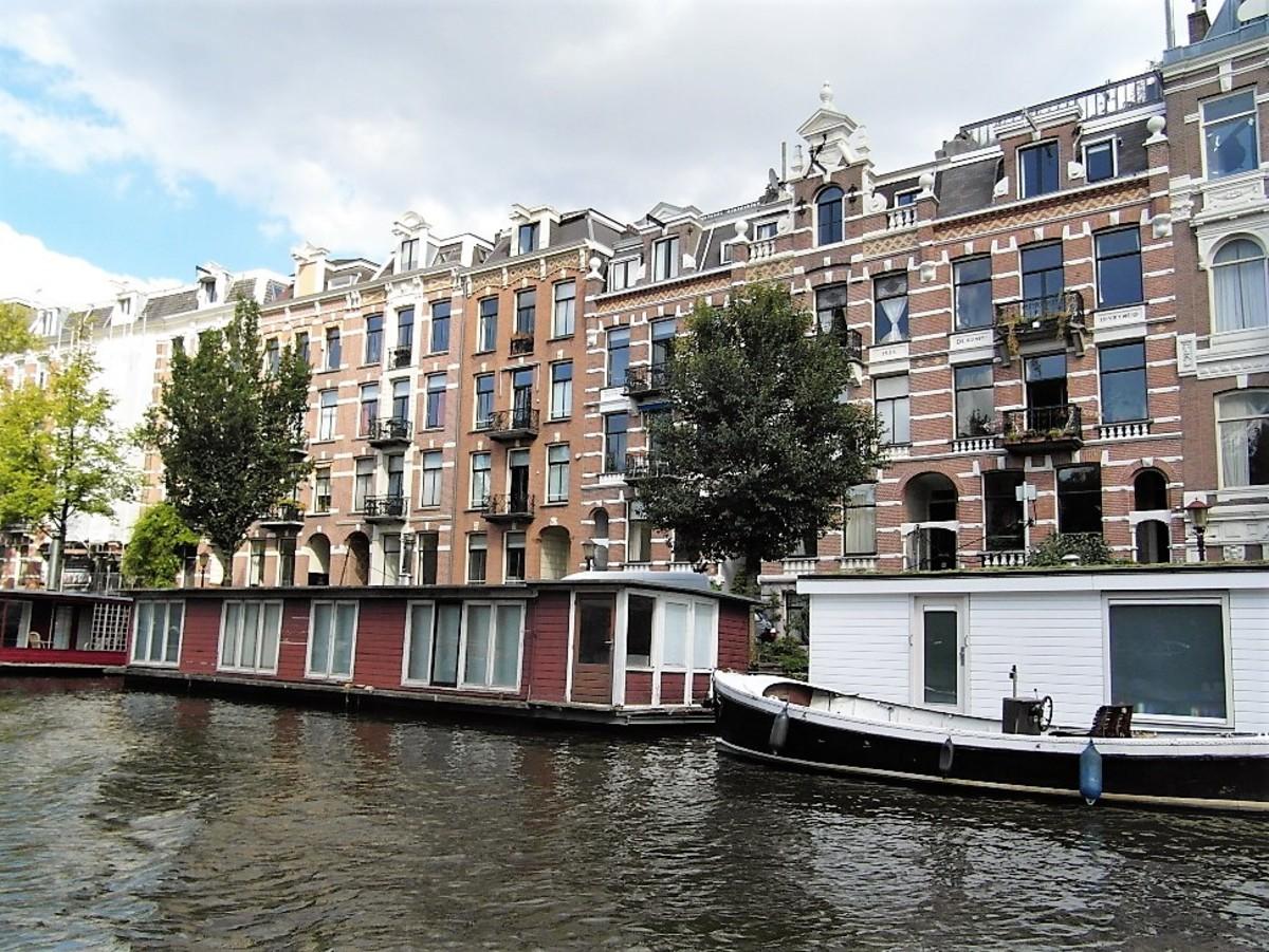 Houseboats, Amsterdam.