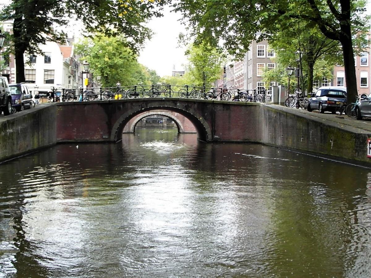The bridges of Amsterdam.