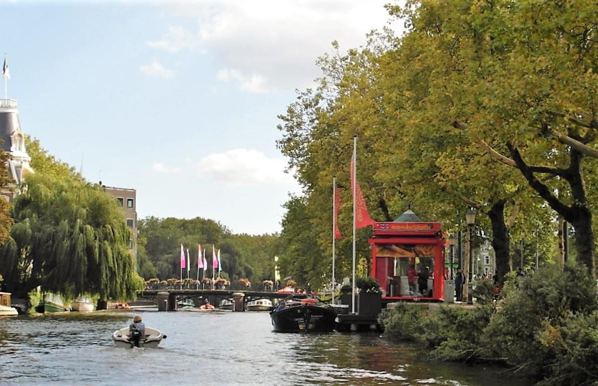 The edge of the Vondelpark, Amsterdam.