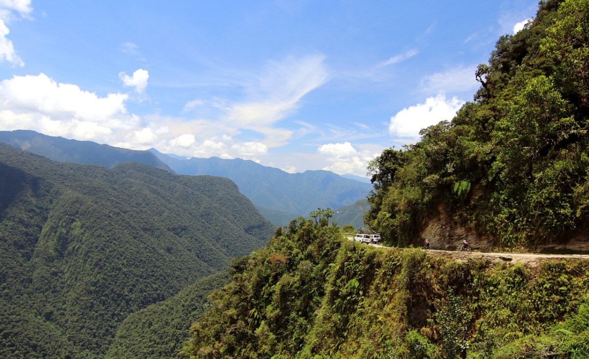 """The Yungas """"Death Road"""""""