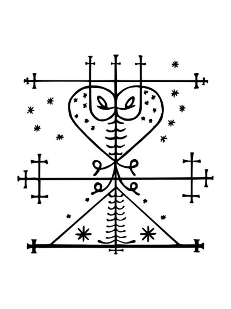 Ritual Symbols Of The Voudou Spirits Voudou Veves Exemplore