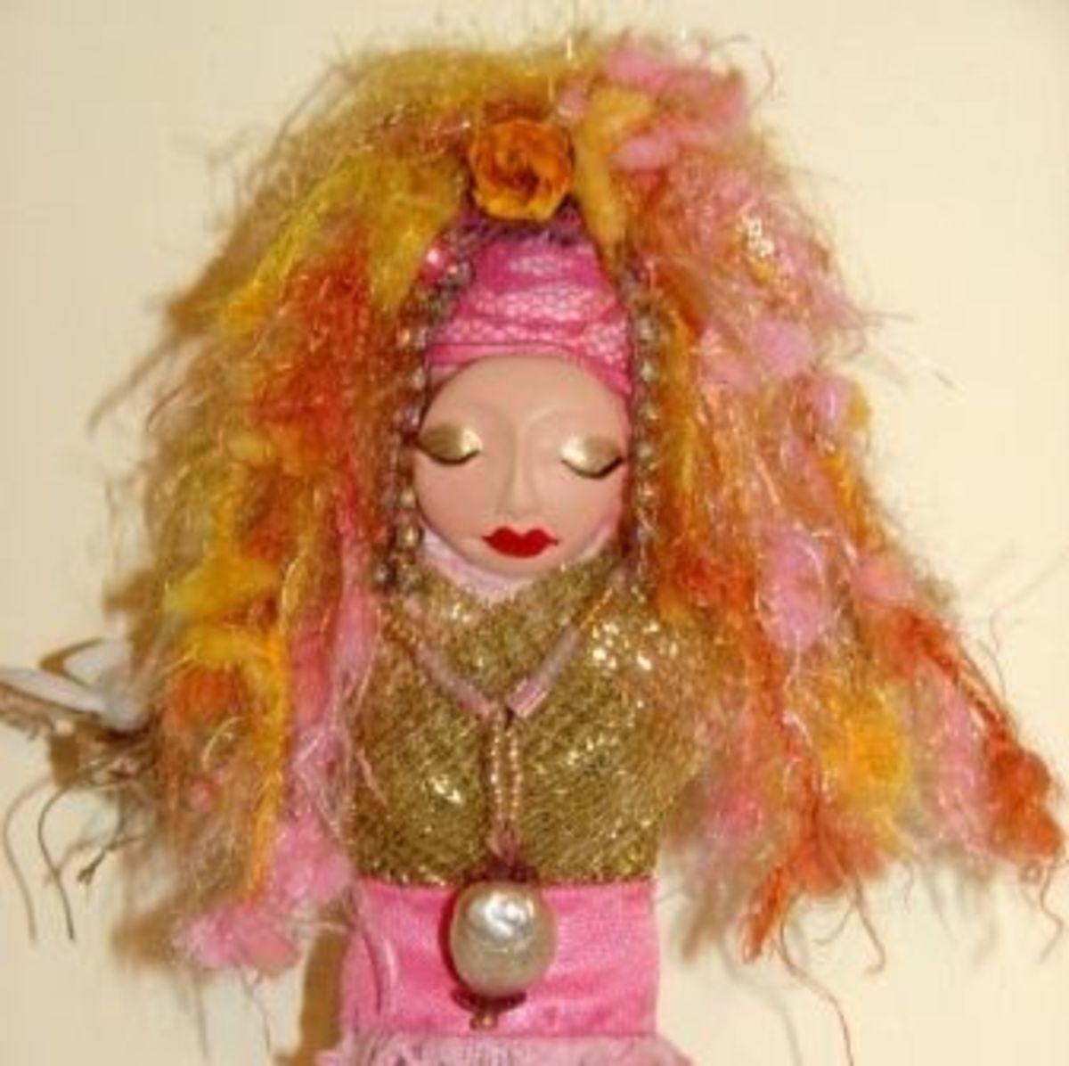 Erzulie Freda Voudou Doll by Denise Alvarado