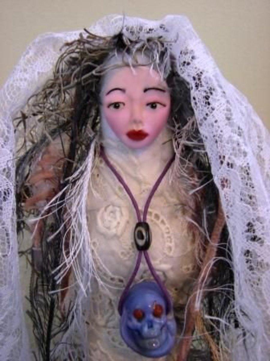 Manman Brigit Altar Doll by Denise Alvarado